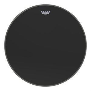REMO POWERSTROKE 3 BLACK BASSDRUM 24 P3-1024-ES