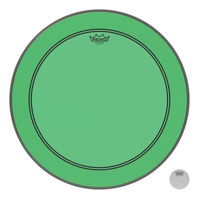 REMO P3 COLORTONE GREEN BASS 22 P3-1322-CT-GN