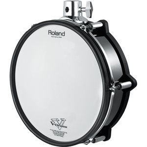 ROLAND PD-128-BC V-PAD WITH IMPROVED RIM SENSOR FOR ACCURATE RIM-SHOT SENSING
