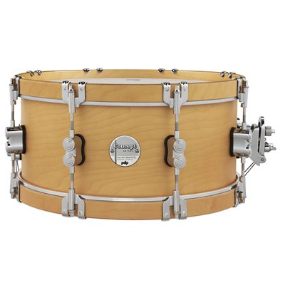 PACIFIC DRUMS PDCC6514SSNN CLASSIC 6.5X14 NATURAL W/NATURAL HOOPS