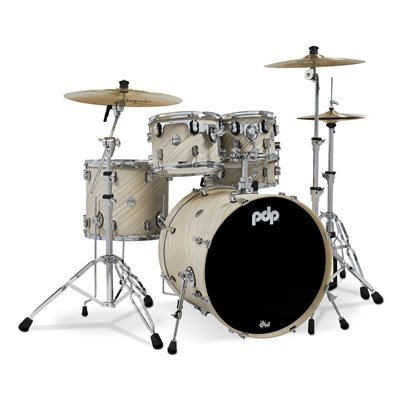 PACIFIC DRUMS PDCM2215TI CONCEPT MAPLE 5PCE TWISTED IVORY (22, 10, 12, 16, 14X5.5)