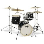PACIFIC DRUMS PDNY1604BO NEW YORKER 4PCS BLACK ONYX SPARKLE (16-10-13-14S)