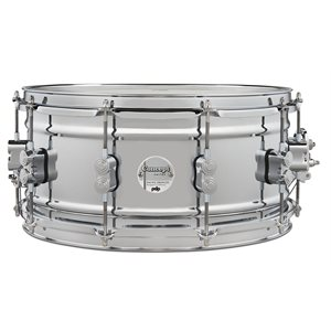 PACIFIC DRUMS PDSN6514SSCSC CONCEPT 6.5X14 CHROME OVER STEEL/CH HW