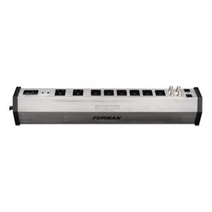 FURMAN PST-8 DIG 5A 8 OUTLET SURGE SUPPRESSOR W/SMP, LIFT, EVS AND 2 FILTERED BANKS