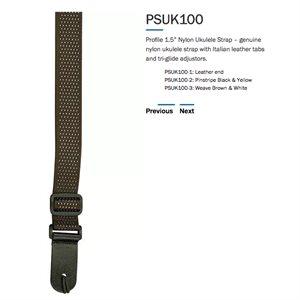PROFILE PSUK100-3 UKE STRAP WEAVE BR