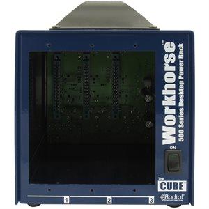 RADIAL ENGINEERING WORKHORSE CUBE 500 SERIES 3-SLOT POWER RACK R700 0107 00