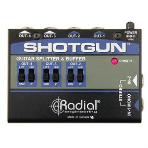 RADIAL ENGINEERING TONEBONE SHOTGUN INSTRUMENT BUFFER & SPLITTER R800 7215 00