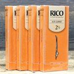 RICO BY D'ADDARIO ALTO CLARINET REEDS 4 X BOX OF 25 REEDS 2 1/2 STRENGTH RDA2525