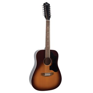 RECORDING KING DIRTY 30S SERIES 9 12-STRING DREADNOUGHT RDS-9-12-FE5-TS WITH FISHMAN PRESYS PICKUP
