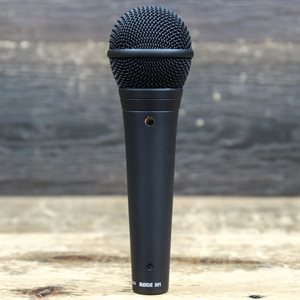 RODE MICROPHONES M1 LIVE PERFORMANCE DYNAMIC VOCAL MICROPHONE W/BOX #AV0088974