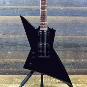 ESP LTD EX-200 SET-NECK CONSTRUCTION BLACK LEFT-HANDED ELECTRIC GUITAR #RS18010057
