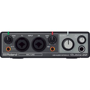 ROLAND RUBIX 22 2-in/2-out