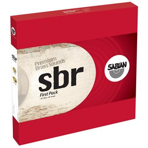 SABIAN PACK SBR FIRST-PACK 13HH + 16 CRASH SBR5001