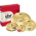 SABIAN SBR5003BR2 SBR BRIGHT PERFORMANCE SET (10, 14, 16, 20)