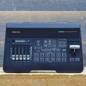 DATAVIDEO SE-650 4-INPUT HD DIGITAL VIDEO SWITCHER WITH 4-CHANNEL AUDIO MIXER