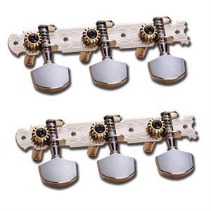 DIXON SKG 355 CLASSICAL MACHINE HEADS STEEL SHAFT 3L/3R