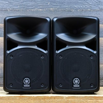 YAMAHA STAGEPAS 400BT 400W (200W+200W) PORTABLE PA SYSTEM AVEC BLUETOOTH #UEAL01181