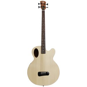 SPECTOR TIMBRE ACOUSTIC BASS NATURAL AVEC ÉTUI SOUPLE