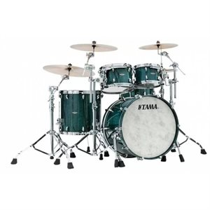 TAMA TW42RZS-LIC STAR WALNUT 4-PIECE LIGHT INDIGO JAPANESE CHESTNUT (2216BD, 1007T, 1208T, 1616FT)