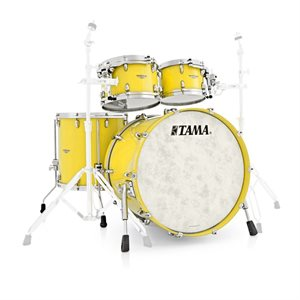 TAMA TW42RZS-SYL STAR WALNUT 4 MORCEAUX SUNNY YELLOW LACQUER (2216BD, 1007T, 1208T, 1616FT)