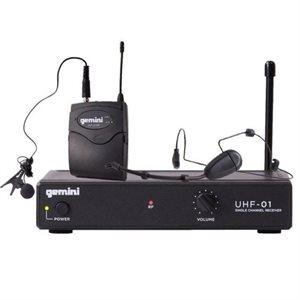 GEMINI UHF-01HL-F1 HEADSET - 517.6