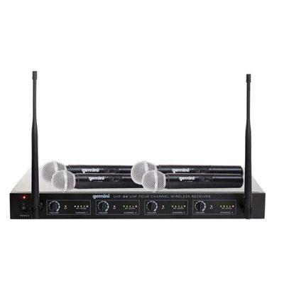 GEMINI UHF-04M-S1234 HANDHELD 4-CHAN 500-950MHZ