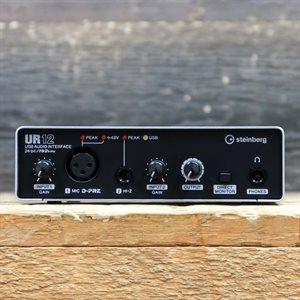 STEINBERG UR12 COMPACT 24-BIT/192 KHZ 2 X 2 USB AVEC BOITE #YEAP02520