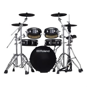 ROLAND VAD306 V-DRUMS ACOUSTIC DESIGN SPACE-SAVING KIT WITH SHALLOW-DEPTH SHELLS AND TD-17 MODULE