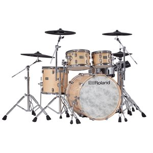 ROLAND VAD706-GN GLOSS NATURAL V-DRUMS ACOUSTIC DESIGN THE PERFECT FUSION OF ACOUSTIC AND ELECTRONIC DRUMS