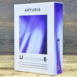 ARTURIA V COLLECTION 6 ULTIMATE SYNTH ORGAN PIANO PERFORMANCE KEYBOARD SOFTWARE