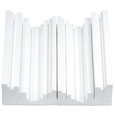 VICOUSTIC TRAP FUSER, WHITE B00542 - ENSEMBLE DE 6