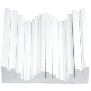VICOUSTIC TRAP FUSER, WHITE (BOITE DE 6 UNITÉS) B00542