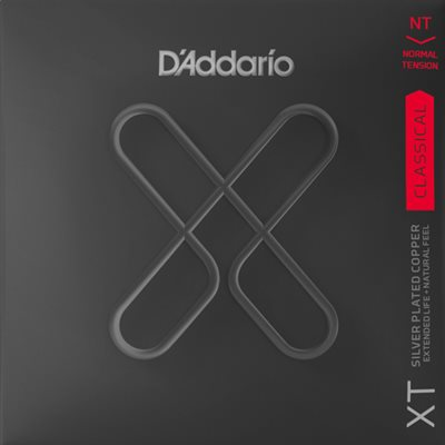 D'ADDARIO XTC45 XT SILVER PLATED COPPER NORMAL TENSION