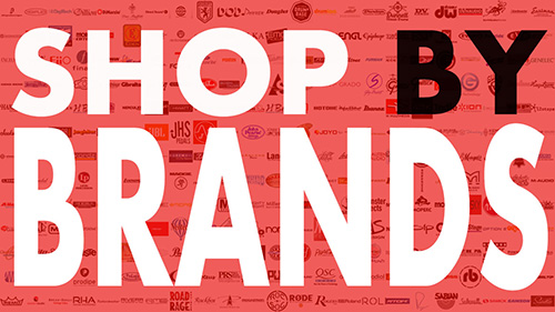 SHOP BY BRANDS